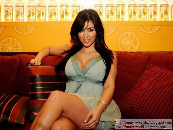 金卡黛珊 Kim Kardashian寫真桌布照片露點懶人包 (6)