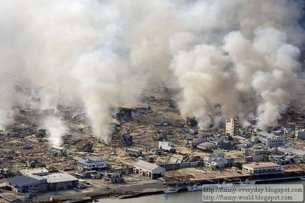 日本地震海嘯後空拍圖 (19)
