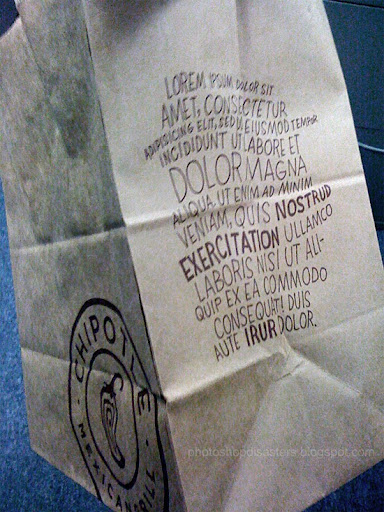Chipotle PSD