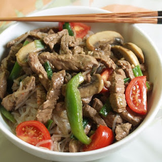 Pepper-Beef Stir-Fry