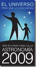 cartel año astronomía 2009