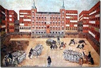 Fiesta de Toros en la Plaza Mayor, Anónimo s XVII