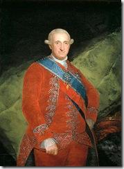 Carlos IV, pintado por Goya