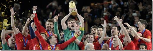 españa campeona del mundo de fútbol 2