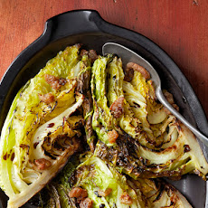 Crisp Roasted Cabbage