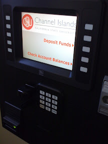 PHIL station in USU: screen shows Deposit Funds and Check Account Balances