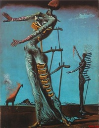 Salvador-Dali-Burning-Giraffe