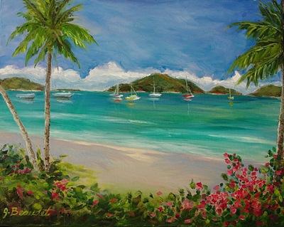 Tropical Beach - JBeaudet