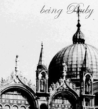 Being Ruby - Basiclica di San Marco - 2