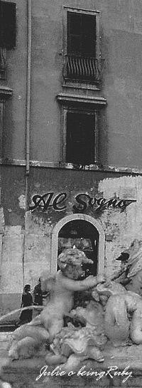 Beingruby - Piazza Navona - Al Sogno - 1 bw