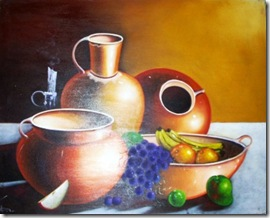 Painting - Jars