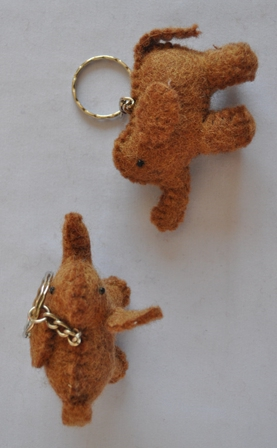 Felt Keyring