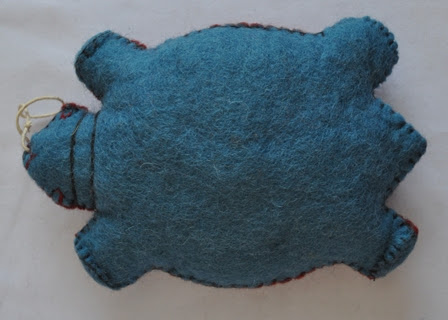 Felt Turtle