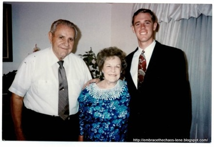 Grandpa Walter, Grandma Pernie and David
