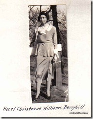 Hazel Christine Williams Freeman Berryhill