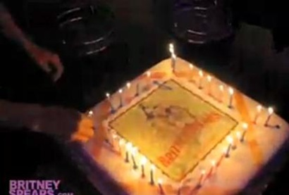 Britney Spears circus Birthday cake picture