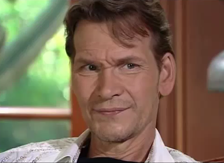 Pancreatic cancer-stricken Patrick Swayze on The View
