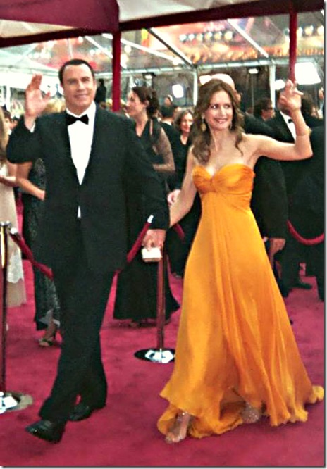 Kelly Preston and husband John Travolta Red Carpet Arrival