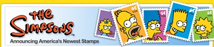 The Simpsons Stamps picture