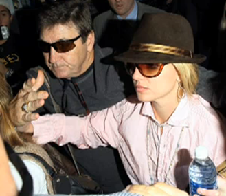 Britney Spears and  father Jamie Spears picture
