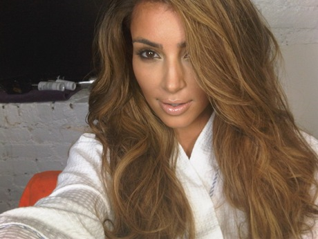 kim kardashian new hair color 2011. kim kardashian hair colour