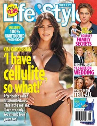Kim Kardashian Life & Style Bikini Photos