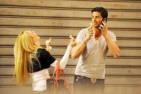 Noemi Letizia, boyfriend Domenico Cozzolino Picture