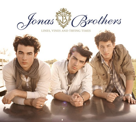 Jonas Brothers Lines Vines And Trying Times album cover photo