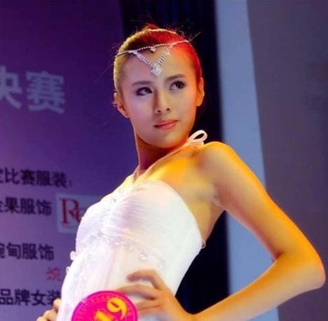 Chendu girl Zou Linying, China's Super Model pics