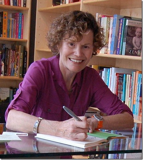 Teen literature author JudyBlume