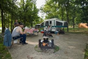 Lake Of The Ozarks State Park Campground In Missouri