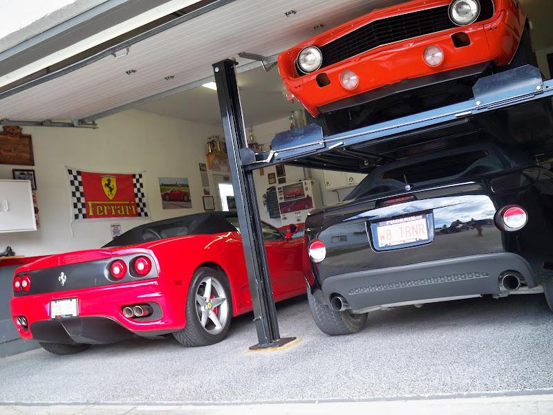 Garage door mods for lift corvetteforum chevrolet for Raise garage door height
