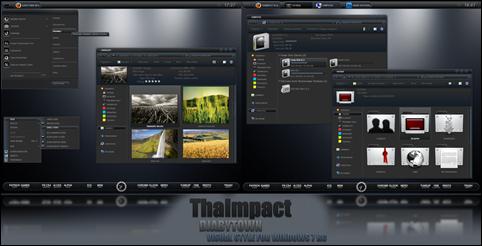 ___ThaImpact_VS___Windows_7____by_DjabyTown
