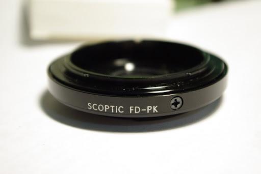 Canon FD鏡 to PK轉接環拍攝效果