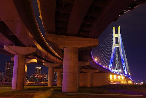 兩顆價差40幾倍的鏡頭與新北大橋
