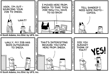 Outsourcing Dilbert