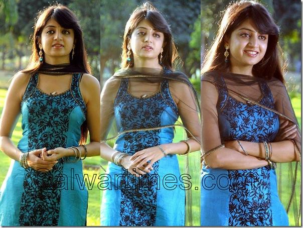 Poonam Kaur_Blue_Designer_salwar_Kameez