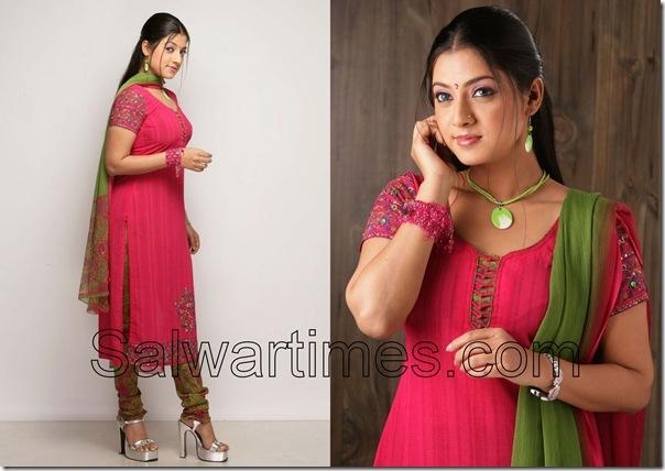 Keerthi_Chawala_Pink_Designer_salwar_kameez