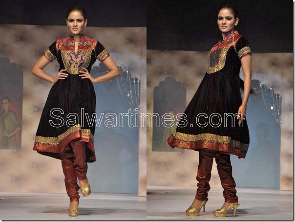 Brown_Designer_salwar_kameez