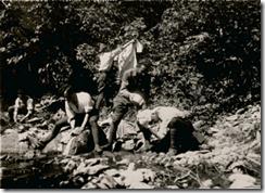 Ατομική υγιεινή κατά την εκστρατεία στη Μικρά Ασία.