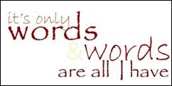 words tile no back