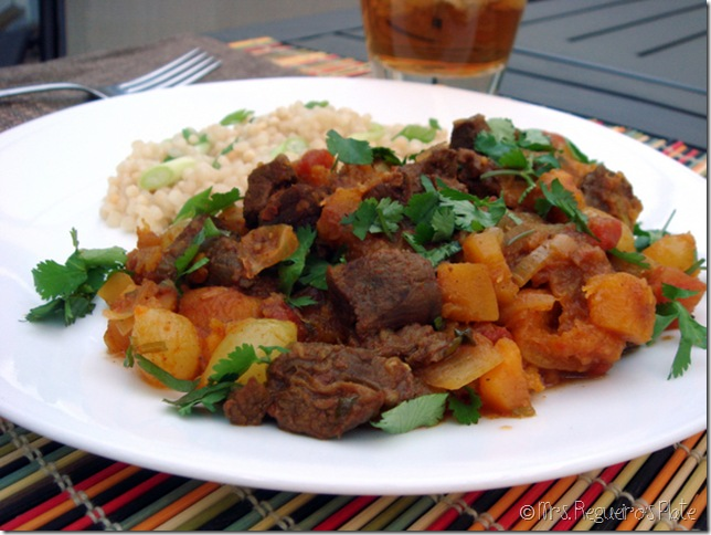 Beef Tagine with BS