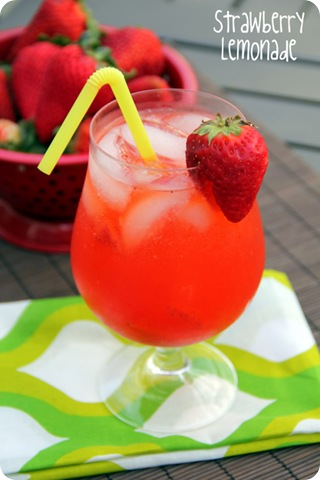 Strawberry Freckled Lemonade