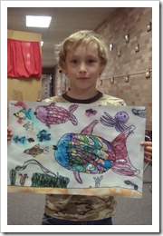 Rainbow Fish end of school 014