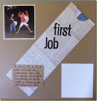 J first job