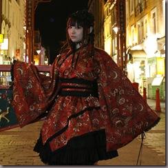Blog YUME:No QI Lolita, em vez de acessorios japoneses, usam-se acessorios chineses. Lindo!!!