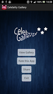 Celebrity Gallery - screenshot