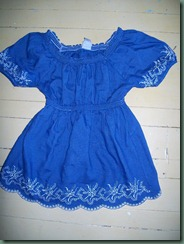 Blue Peasant shirt (6)