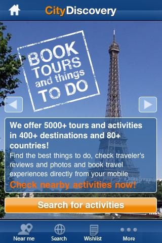 City Discovery Tours Travel