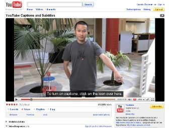 YouTube has started function of automatic addition of subtitles